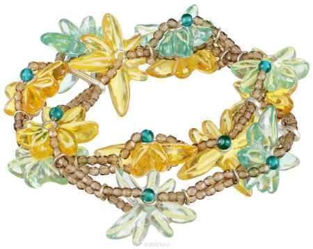 Купить Браслет Lalo Treasures River Running Free, цвет: желтый, зеленый. B2537