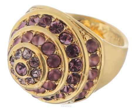 Купить Jenavi Коллекция Франциска, Ландэ (Кольцо), цвет - золотой, розовый, размер - 19
