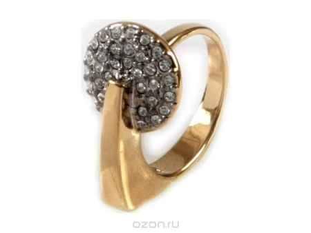 Купить Кольцо Jenavi Коллекция Стиль Сальто, цвет: золотой, белый. a086q000. Размер 16