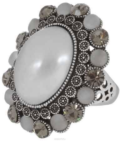 Купить Кольцо Art-Silver, цвет: серебристый, серый, серебристо-синий. 064458-803-821. Размер 16,5