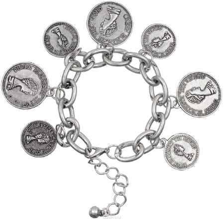 Купить Браслет Happy Charms Family, цвет: серый. NOAY0384