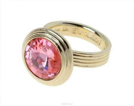 Купить Кольцо Jenavi Коллекция Радиус Эмбаси, цвет: золотой, розовый. j171p012. Размер 16