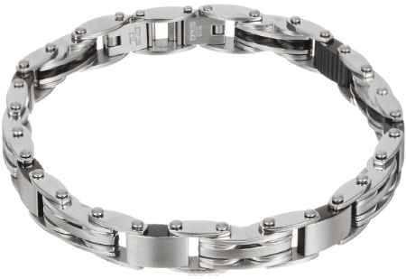 Купить Браслет Art-Silver, цвет: серебряный, черный. B09-954