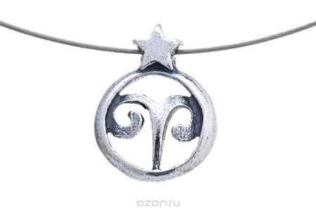 Купить Jenavi Коллекция Зодиак, Эриз (Кулон), цвет - серебро