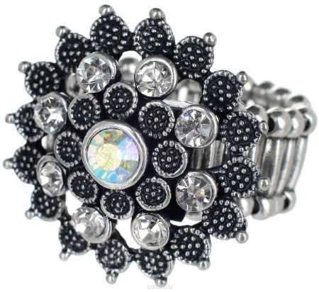 Купить Кольцо Taya, цвет: серебристый. T-B-7327