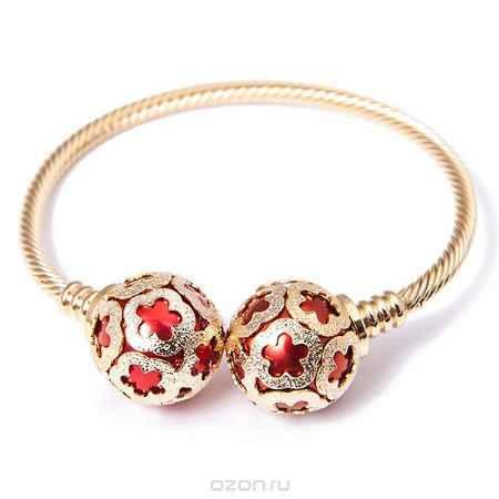 Купить Браслет жен. Selena Street Fashion, цвет: золотистый, красный. 40053980