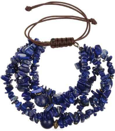 Купить Браслет Polina Selezneva, цвет: синий. 002-2827