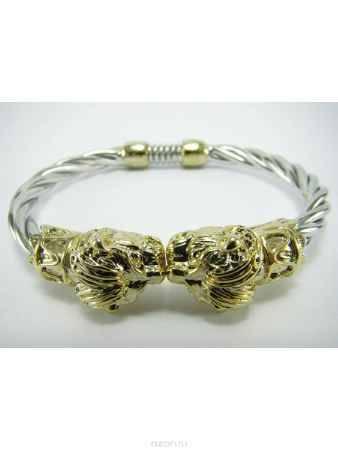 Купить Браслет Taya, цвет: серебристый, золотистый. T-B-7054
