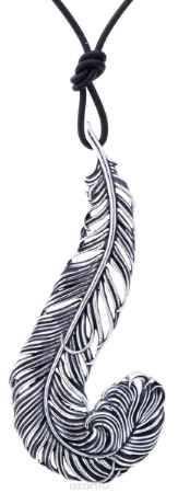 Купить Jenavi, Коллекция Feather, Гис (Кулон), цвет - серебро