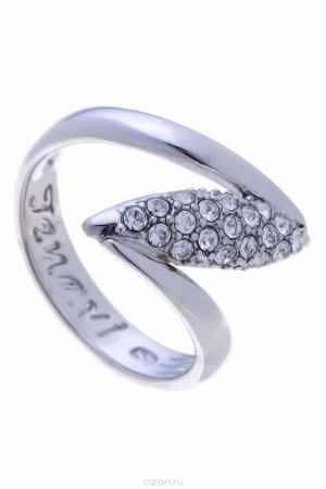 Купить Кольцо Jenavi Коллекция Примавера Юсия, цвет: серебряный, белый. k020f000. Размер 16