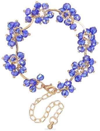 Купить Браслет Happy Charms Family, цвет: золотистый, синий хамелион. NODM0066