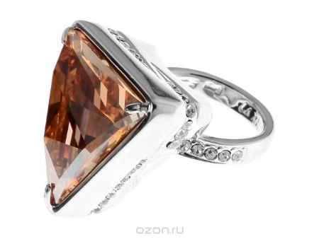 Купить Кольцо Jenavi Коллекция Айсберг Айсберг, цвет: серебряный, желтый. r441f020. Размер 16