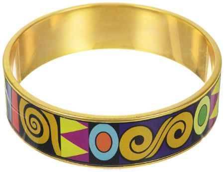 Купить Браслет Art-Silver, цвет: золотой, мультиколор. ФБб110-470