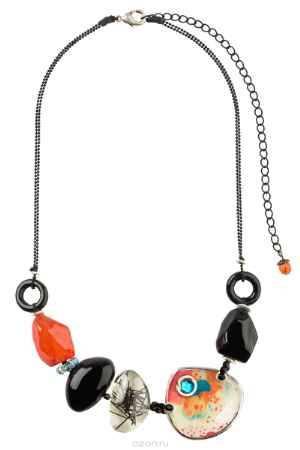 Купить Кулон Lalo Treasures ROW, цвет: оранжевый, черный. P4509-2