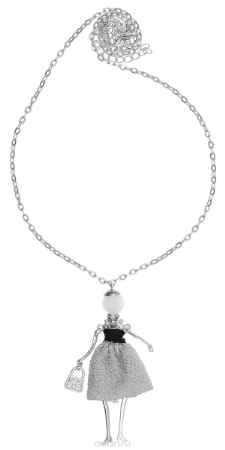 Купить Кулон Happy Charms Family, цвет: серебряный, серый. NODL0016