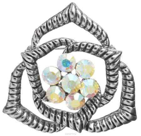 Купить Брошь Happy Charms Family, цвет: серебряный. NOAE0337
