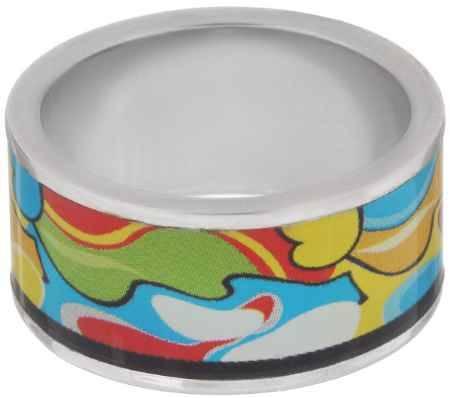 Купить Кольцо Art-Silver, цвет: серебристый, мультиколор. ФК116-1-320. Размер 18,5