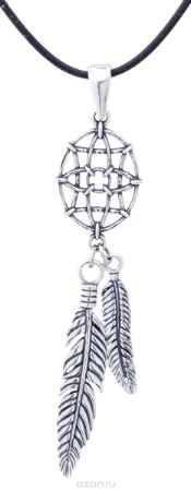 Купить Jenavi, Коллекция Feather, Чит (Кулон), цвет - серебро