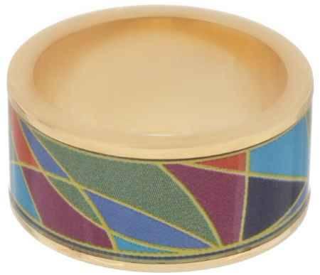 Купить Кольцо Art-Silver, цвет: золотой, мультиколор. ФК125-320. Размер 18,5