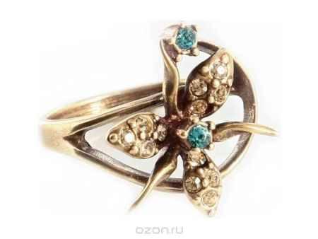 Купить Кольцо Jenavi Коллекция Королева ночи Гудалеара, цвет: бронзовый, мультиколор. j109w070. Размер 16