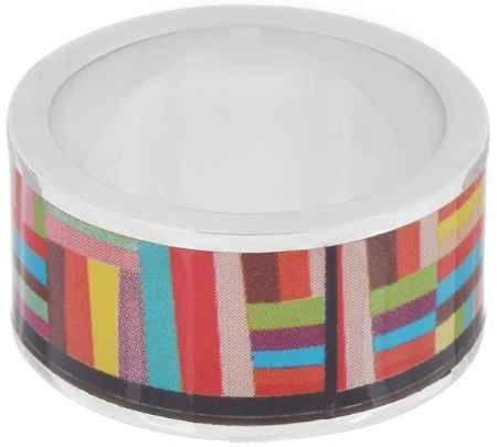 Купить Кольцо Art-Silver, цвет: серебристый, мультиколор. ФК113-1-320. Размер 18,5