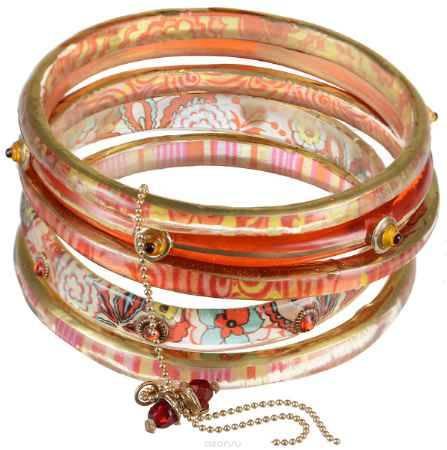 Купить Браслет Lalo Treasures Dragonfly IV, цвет: оранжевый, розовый. Bn2544-3
