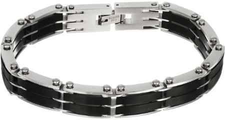 Купить Браслет Art-Silver, цвет: серебряный, черный. B162-774