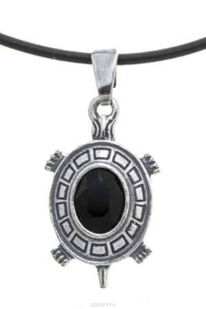 Купить Jenavi, Коллекция Кассида, Эмис (Кулон), цвет - серебро, черный