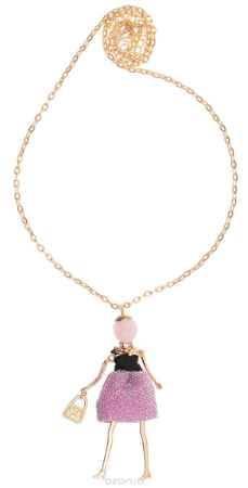 Купить Кулон Happy Charms Family, цвет: золотой, розовый. NODL0018