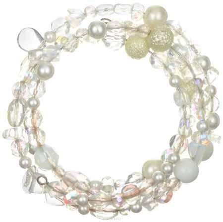 Купить Браслет Art-Silver, цвет: перламутровый, белый. ТВ36-230