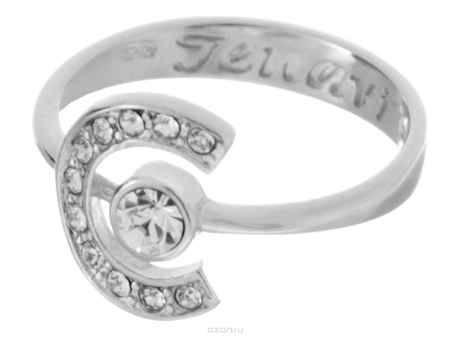 Купить Jenavi Коллекция Saturnio, Эстелио (Кольцо), цвет - серебряный, белый, размер - 16