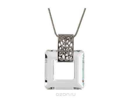 Купить Кулон Jenavi Коллекция Тайны вселенной Кохаб, цвет: серебряный, белый. b825f900. Размер 45+5,5