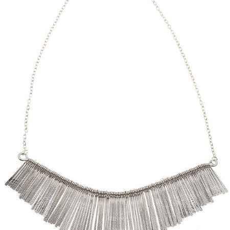 Купить Ожерелье с подвесками. Бижутерный сплав серебряного тона. Гонконг, 2000-е годы