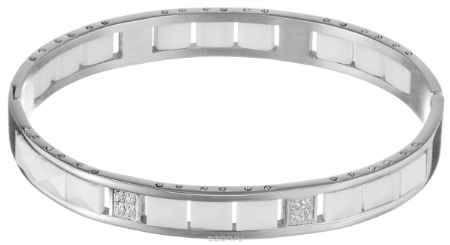 Купить Браслет Art-Silver, цвет: серебристый, белый. КБ305-1319