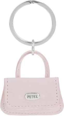 Купить Брелок женский Petek 1855, цвет: светло-розовый. 1514.4000.18