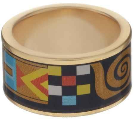 Купить Кольцо Art-Silver, цвет: золотистый, мультиколор. ФК110-320. Размер 17,5
