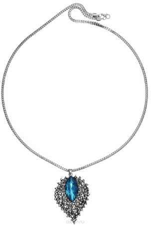Купить Кулон женский Mitya Veselkov Листок с голубым камнем. PDV-42