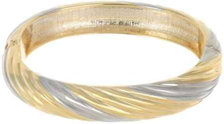 Купить Браслет Taya, цвет: серебристый, золотистый. T-B-7081
