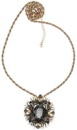Купить Кулон-брошь Taya, цвет: золотистый, мультицвет. T-B-10947