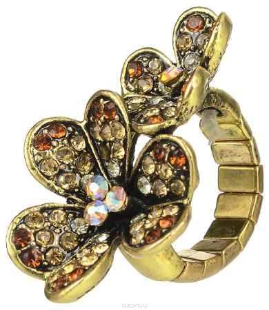 Купить Кольцо Taya, цвет: золотистый, желтый. T-B-7328