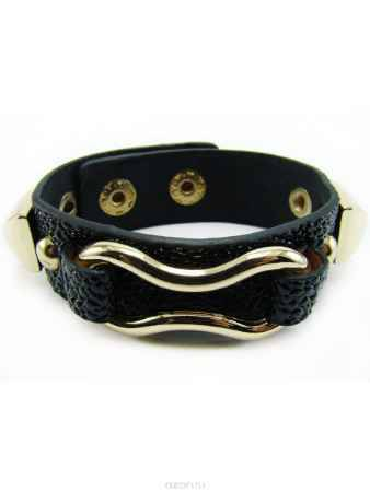 Купить Браслет Taya, цвет: черный, золотистый. T-B-8004