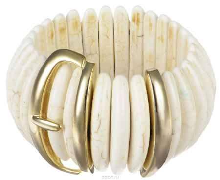 Купить Браслет Art-Silver, цвет: слоновая кость, золотистый. MB05536-G-A-1184