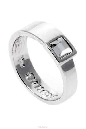 Купить Кольцо Jenavi Коллекция Quadro Робуст, цвет: серебряный, белый. r841f000. Размер 16
