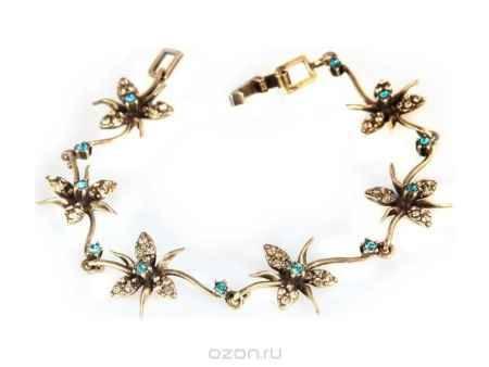 Купить Браслет Jenavi Коллекция Королева ночи Гудалеара, цвет: бронзовый, мультиколор. j109w470. Размер 19