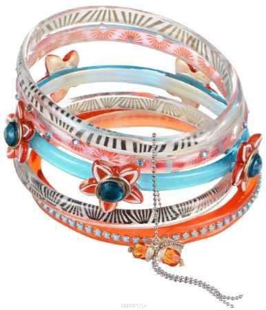 Купить Браслет Lalo Treasures Blossom on the tree, цвет: красный, голубой. Bn2542