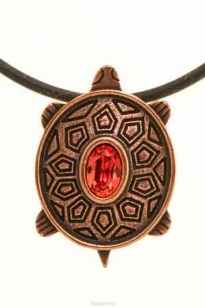 Купить Jenavi, Коллекция Кассида, Архелон (Кулон), цвет - медный, оранжевый