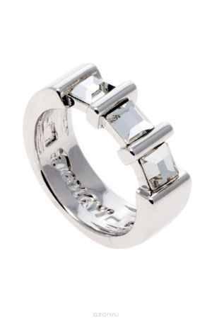 Купить Кольцо Jenavi Коллекция Quadro Таулу, цвет: серебряный, белый. r843f000. Размер 16