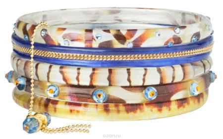 Купить Браслет Lalo Treasures Transcend III, цвет: бежевый, голубой. Bn2522-1
