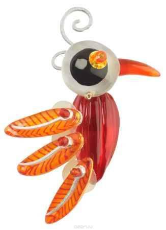 Купить Брошь Lalo Treasures Me & the Others, цвет: оранжевый. 1712