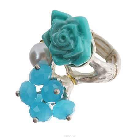 Купить Кольцо Avgad, цвет: золотистый, бирюзовый. EA178JW155
